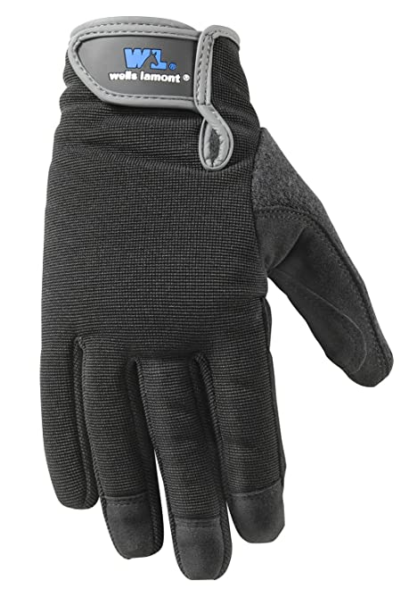 Wells Lamont Synthetic Leather Work Gloves, High Dexterity, Extra Large (7700XL) - Work Gloves - Amazon.com