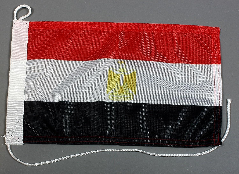 Buddel-Bini Bootsflagge /Ägypten 20 x 30 cm in Profiqualit/ät Flagge Motorradflagge