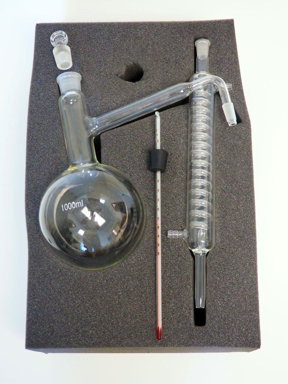 Distillation Glassware Kit, 1000ml