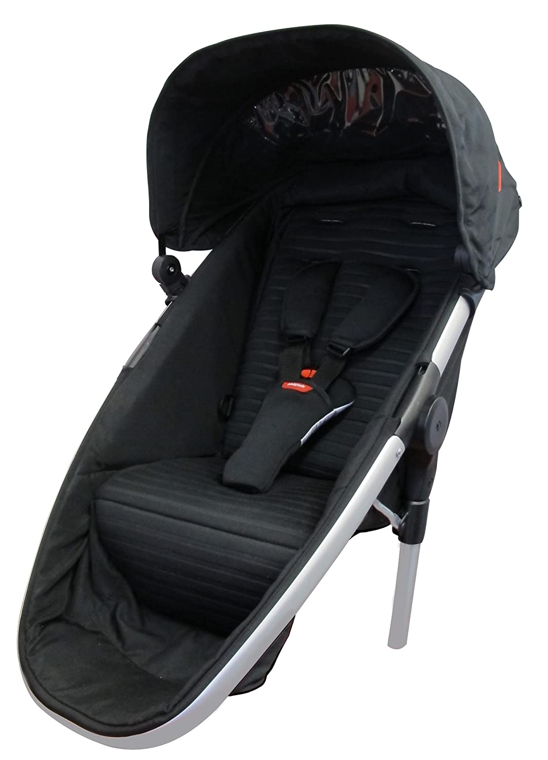 Phil Teds Promenade Doubles Kit Second Seat Black
