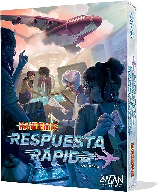 Z-Man Games- Pandemic Respuesta rápida, Color (ZM011ES): Amazon.es: Juguetes y juegos