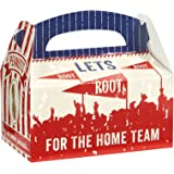 Baseball Time Party Supplies - Empty Favor Boxes (4)