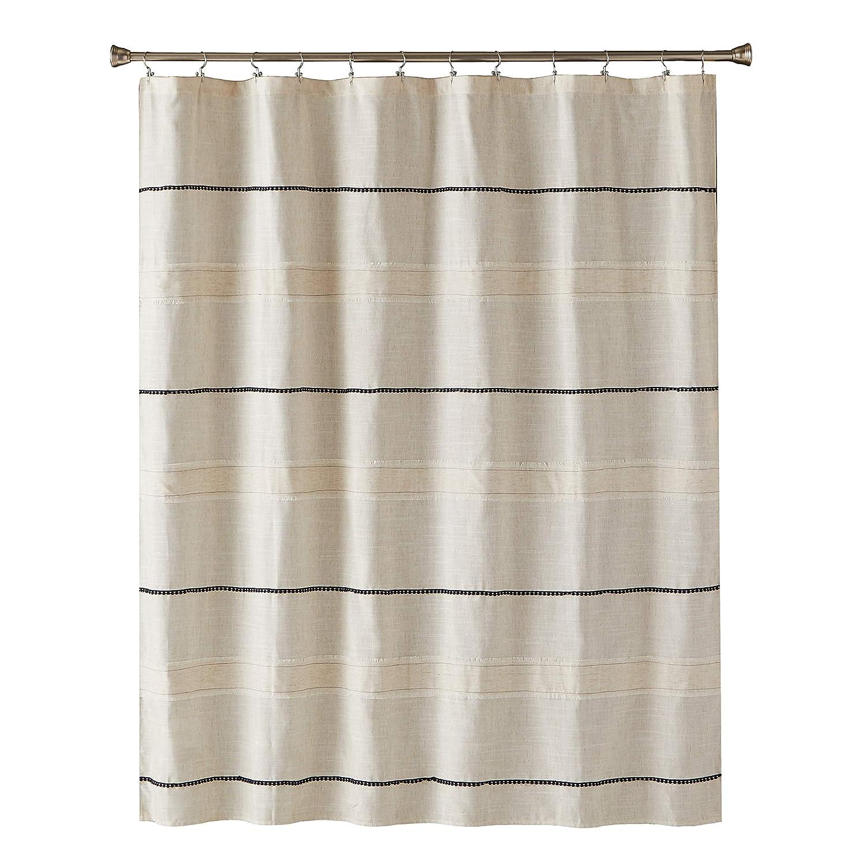 Amazon SKL Home By Saturday Knight Ltd Frayser Shower Curtain Fabric Linen Kitchen