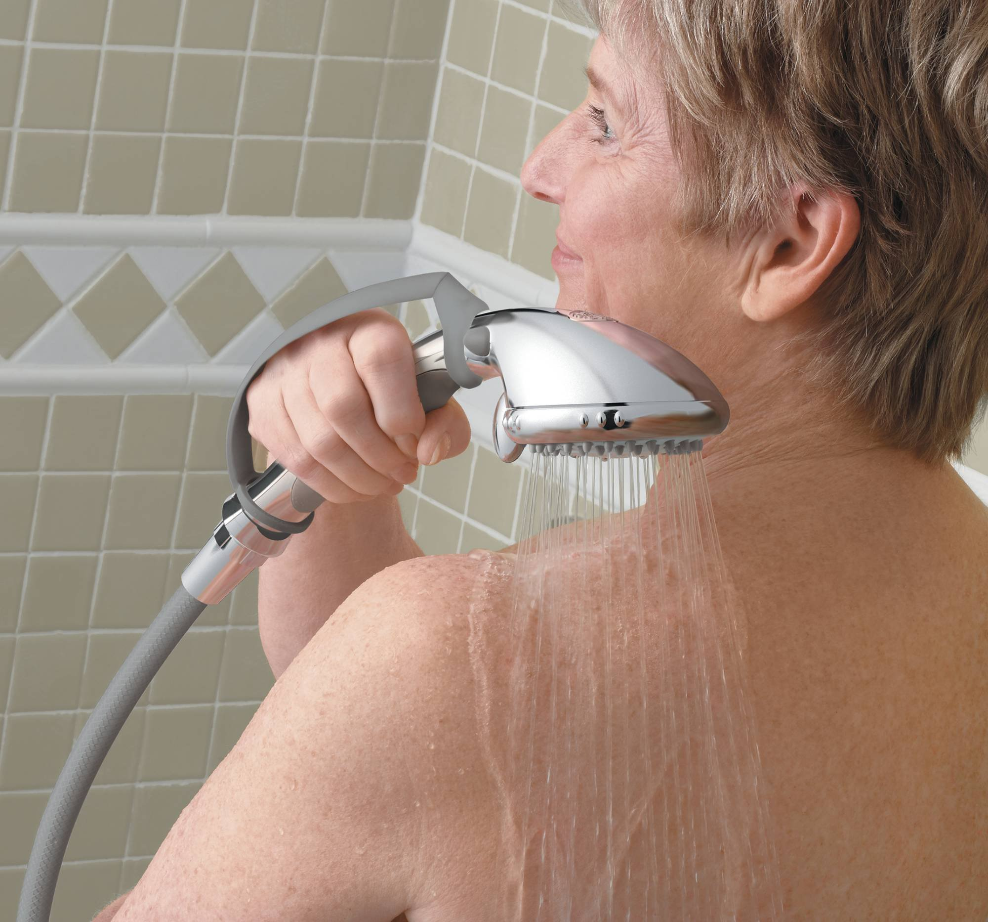 Moen DN8001CH Home Care Pause Control Hand Held Shower