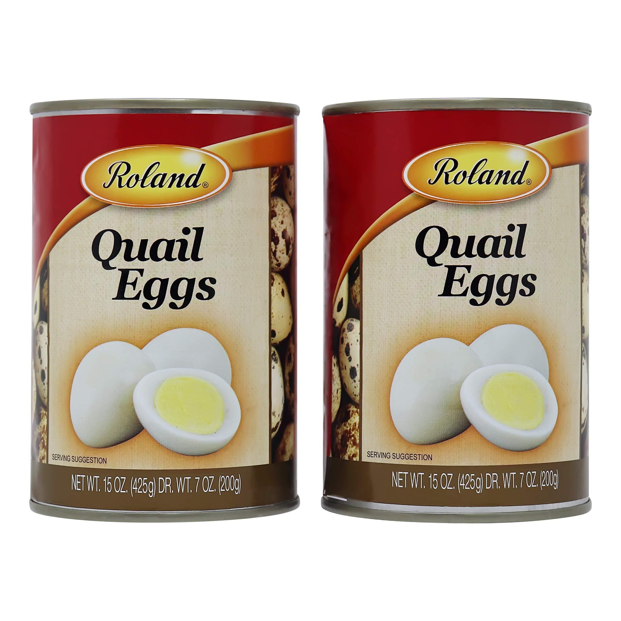 Roland Quail Eggs 15 oz Can