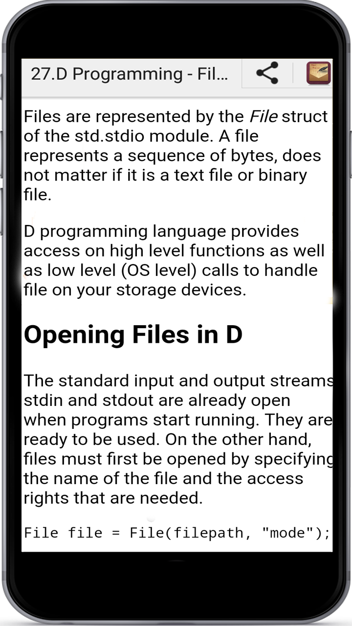 d3a09daba2b0a Amazon.com  Learn D Programming  Appstore for Android