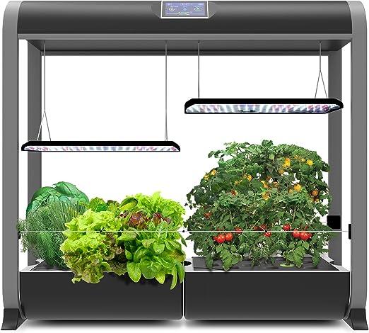 AeroGarden-Farm-Plus-Hydroponic-Garden-24-inches-Grow-Height-Black