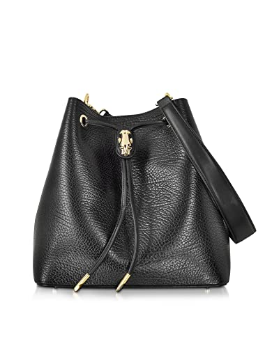 115e6a44d3dc Class Roberto Cavalli Designer Handbags Pantera Nera Black Embossed Leather  Satchel Bag  Amazon.co.uk  Shoes   Bags