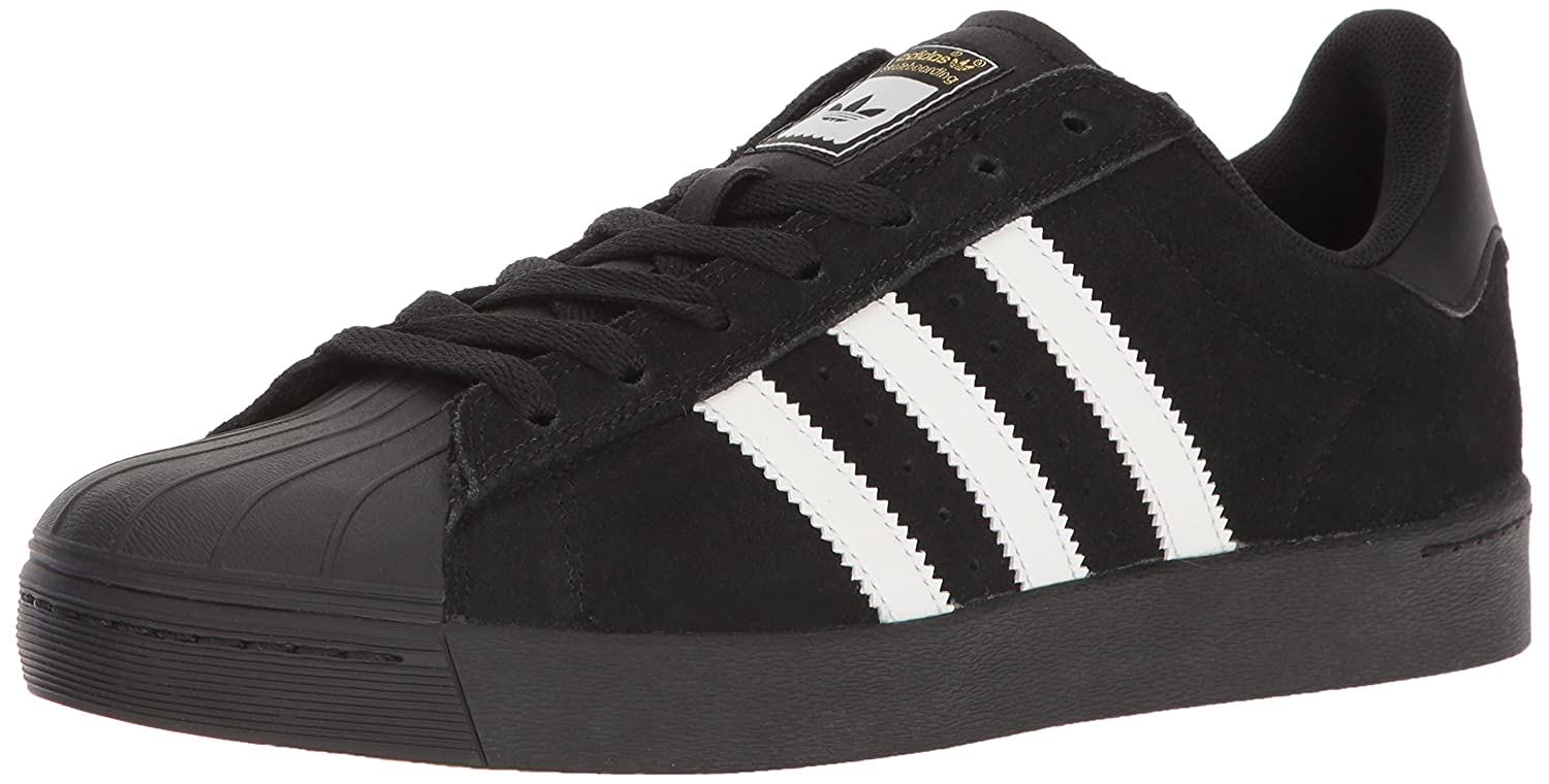 adidas Originals Men's Superstar Vulc Adv Shoes B016R2RUUW 11 M US|Core Black/White/Core Black