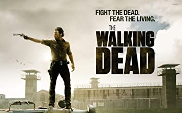 Rick Grimes The Walking Dead Citation Horreur Poster A0