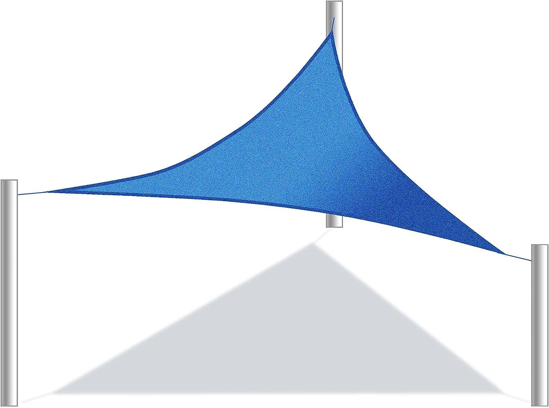 Aleko Triangular 3, 05 x 3, 05 x 3.05 Metros Resistente al Agua ...