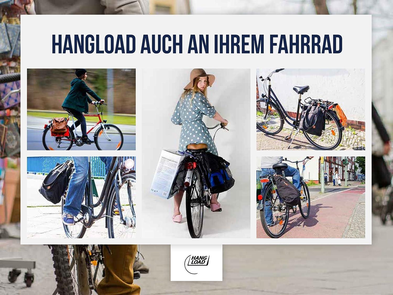 Fahrrad Einkaufskorb Alternative Praktische Halterung Zum Transport Von Einkaufstaschen Beuteln Mit Dem Rad Im Handumdrehen Schwere Einkäufe