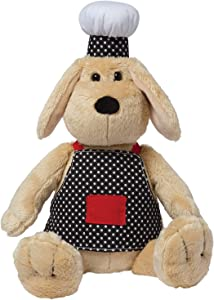 Manhattan Toy Chef Dog Stuffed Animal Toy