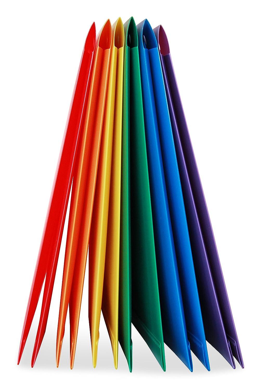 confezione da 6 cartelline portadocumenti di colori assortiti Robusta cartelletta in plastica a 2 tasche STEMSFX per documenti in formato lettera comprende un/'apertura per biglietti da visita