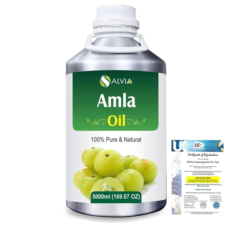 Amla Herbal (Phyllanthus emblica) 100% Natural Pure Oil 5000ml/169fl.oz. B07R4XLRK1