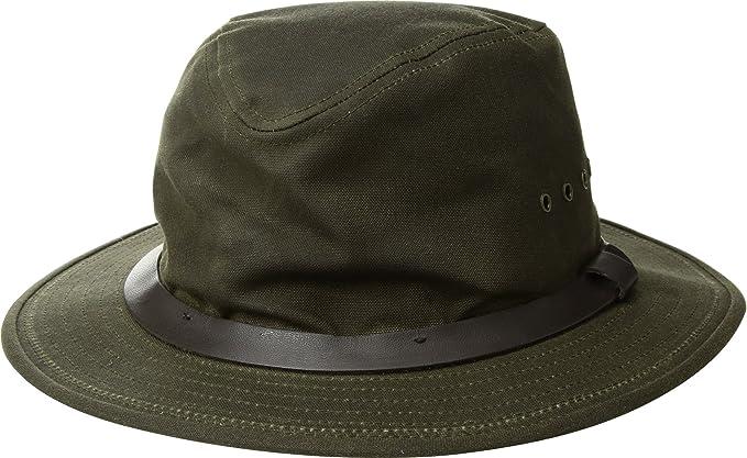 fb2572a63 Filson Unisex Tin Packer Hat Otter Green MD