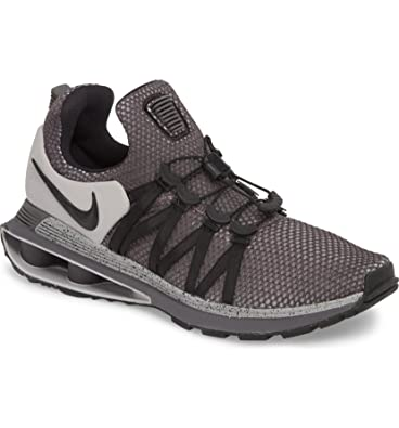 promo code 6fd79 f4687 Amazon.com   Nike Men s Shox Gravity Running Shoes Grey Black Size 10 D(M)  US   Road Running