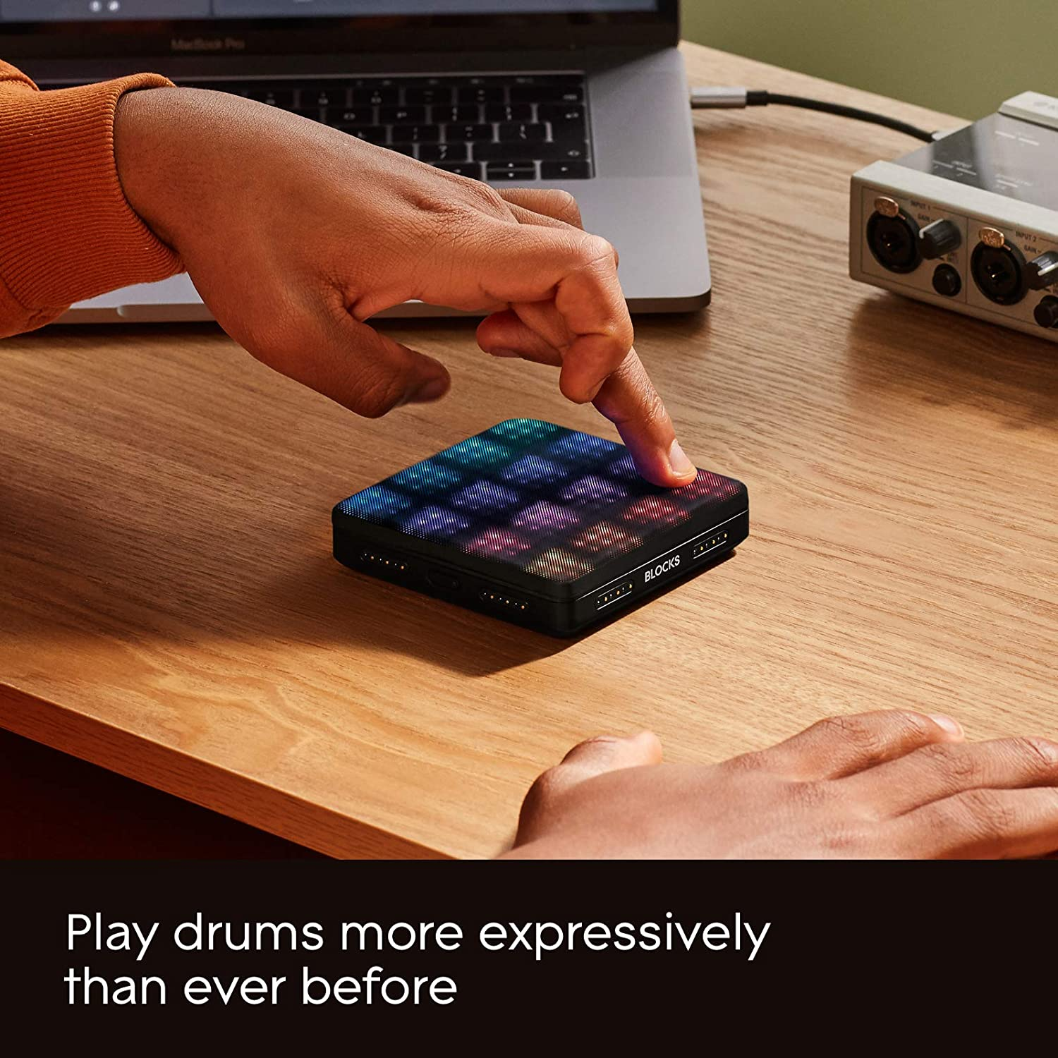 Effects Compatible With Leading Daws And Plugins Roli Seaboard Block Studio Edition Super Powered Keyboard Includes
