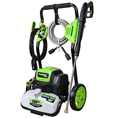 PowRyte Elite 2100PSI 1.8GPM Electric Pressure Washer, Electric Power Washer