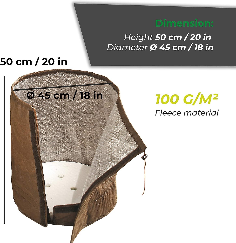 Bio Green KS 50 ThermoPlus XL Funda t/érmica para macetas