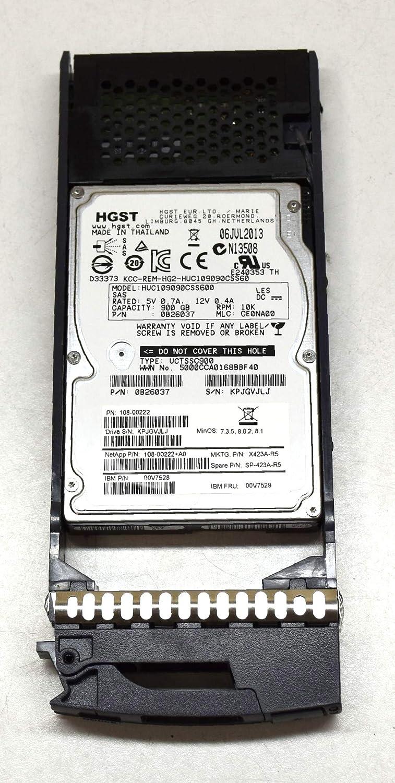 "PN NetApp 600GB 10K 2.5/"" 6.0Gbps SAS Hard Drive X422A-R5"