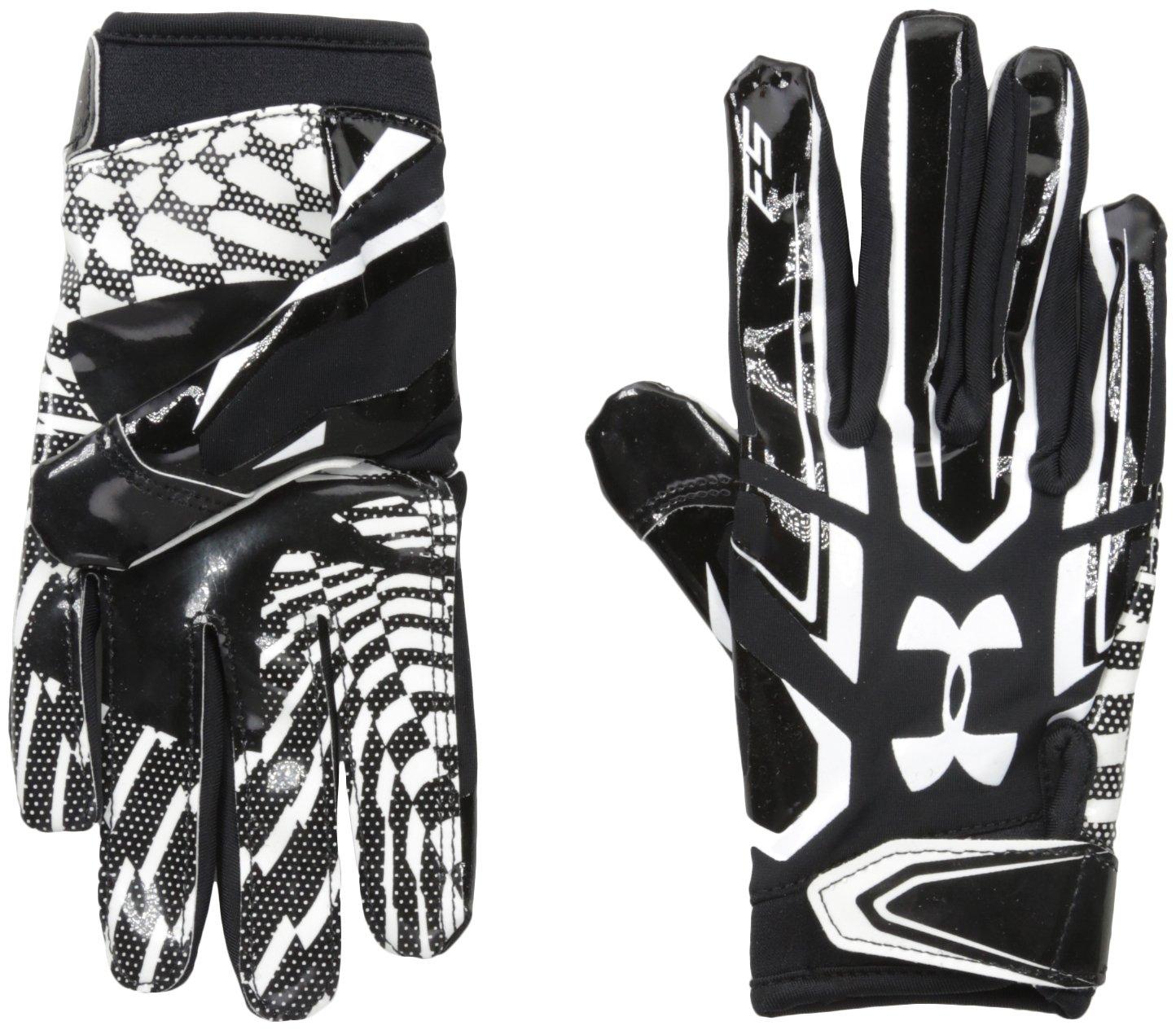 Amazon.com   Under Armour Boys F5 Football Gloves   Sports   Outdoors b8c5c95522ce