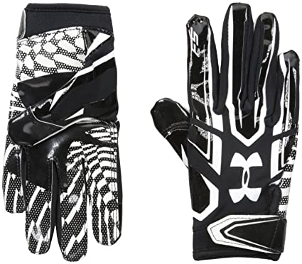 Amazon Com Under Armour Boys F5 Football Gloves Sports Outdoors