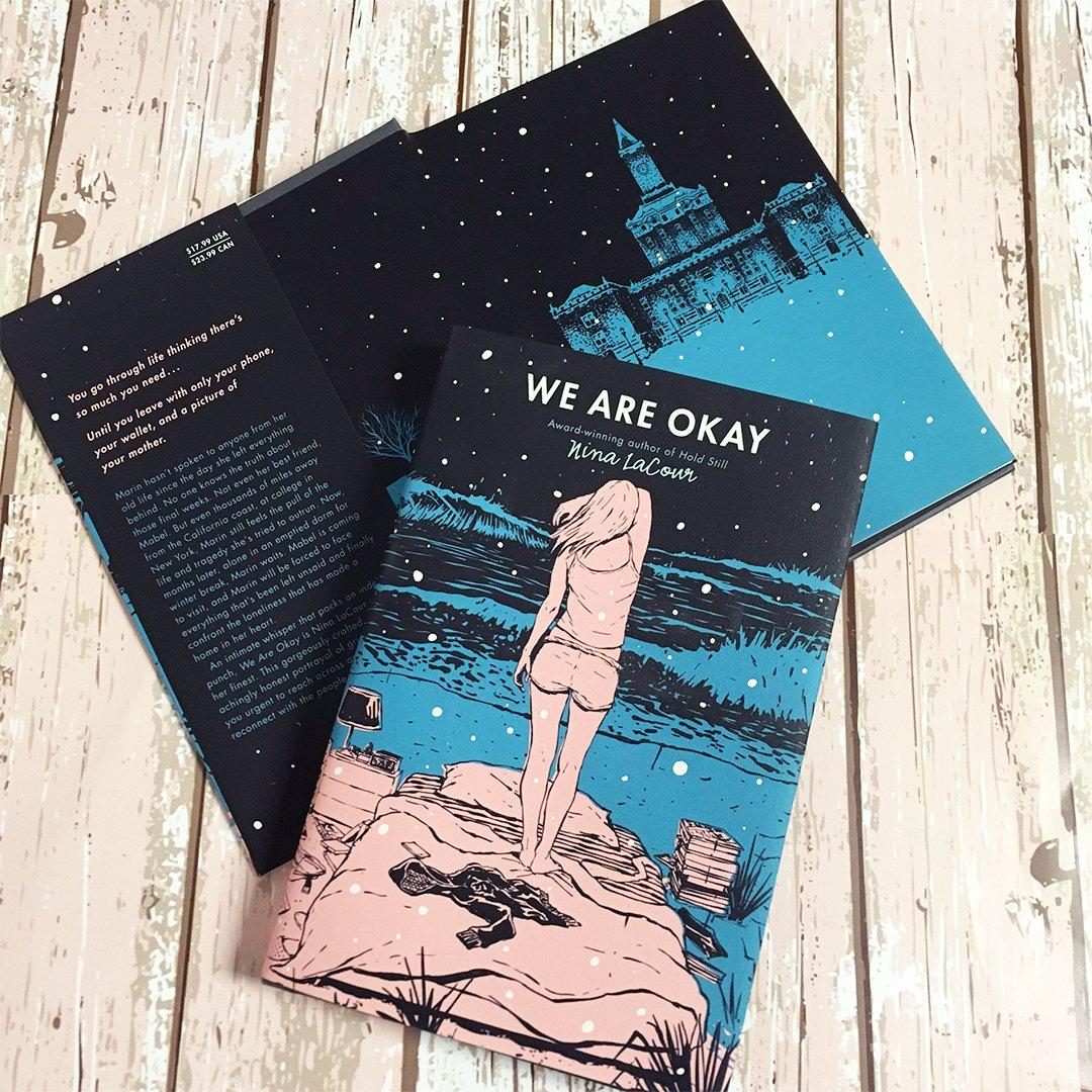 amazon com we are okay 9780525425892 nina lacour books