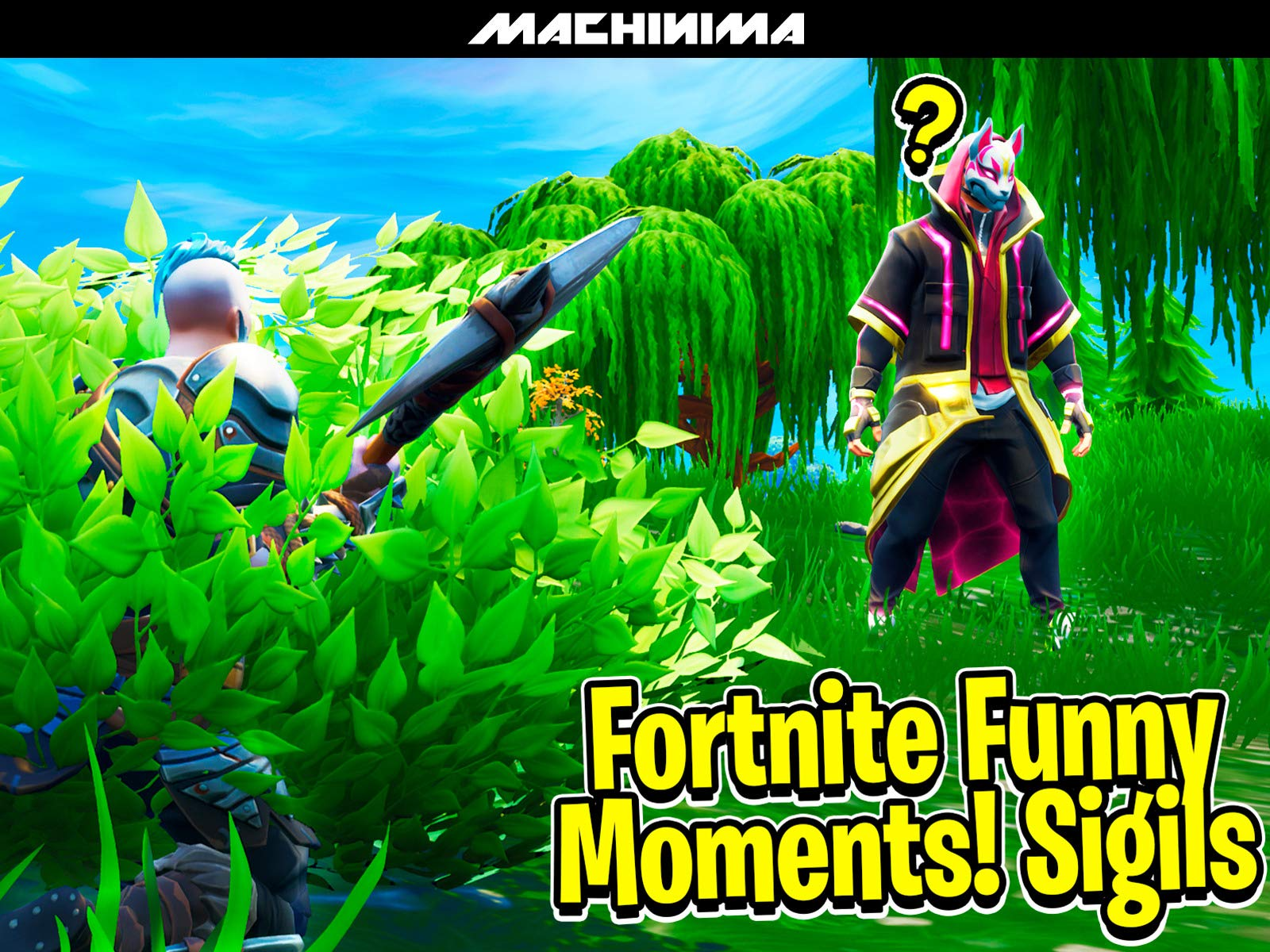 Amazon.com: Watch Clip: Fortnite Funny Moments (Sigils ...