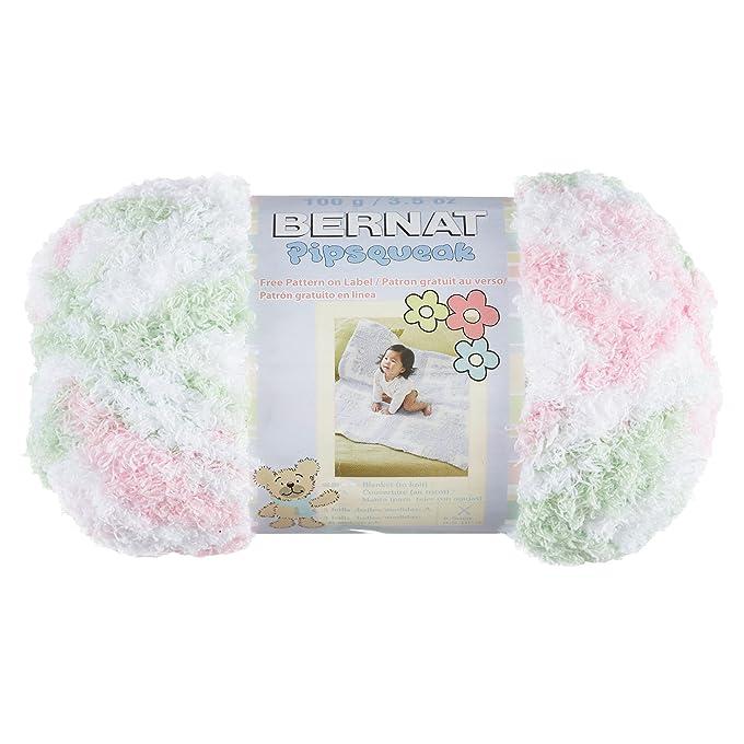Amazon.com: Bernat Pipsqueak Yarn, 3.5 Ounce, Vanilla, Single Ball ...