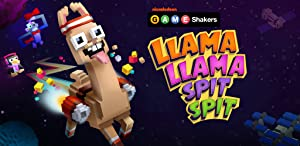 Llama Llama Spit Spit - a GAME SHAKERS App by Nickelodeon