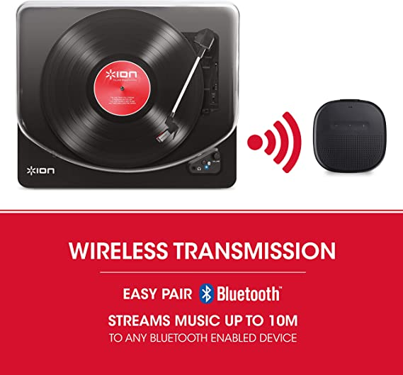 Amazon.com: ION Audio Air LP tocadiscos inalámbrico ...