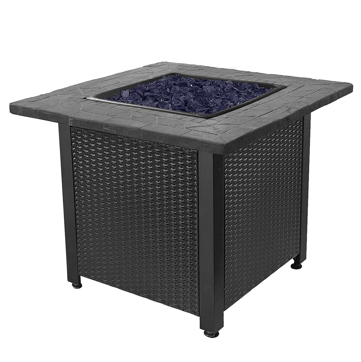 Endless Summer GAD1401GB LP Gas Outdoor Fire Table, Multi Color
