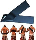 Rücken EincremeHilfe SILIKON – NEUERFINDUNG – Rücken alleine eincremen/selbst eincremen – Rückencremer – selbst ohne Hilfe mit Sonnencreme/Milch einschmieren – Hygienisch Platzsparend - 90x10cm