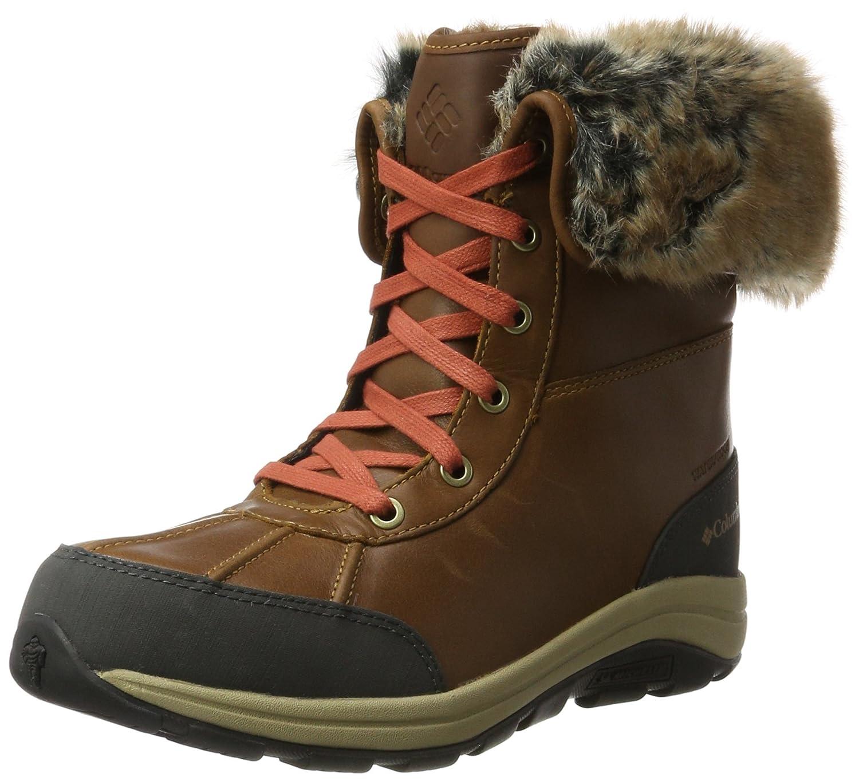 Columbia Bangor Omni-Heat, Botas de Nieve para Mujer38.5 EU|Marrón (Elk, Rusty 286)