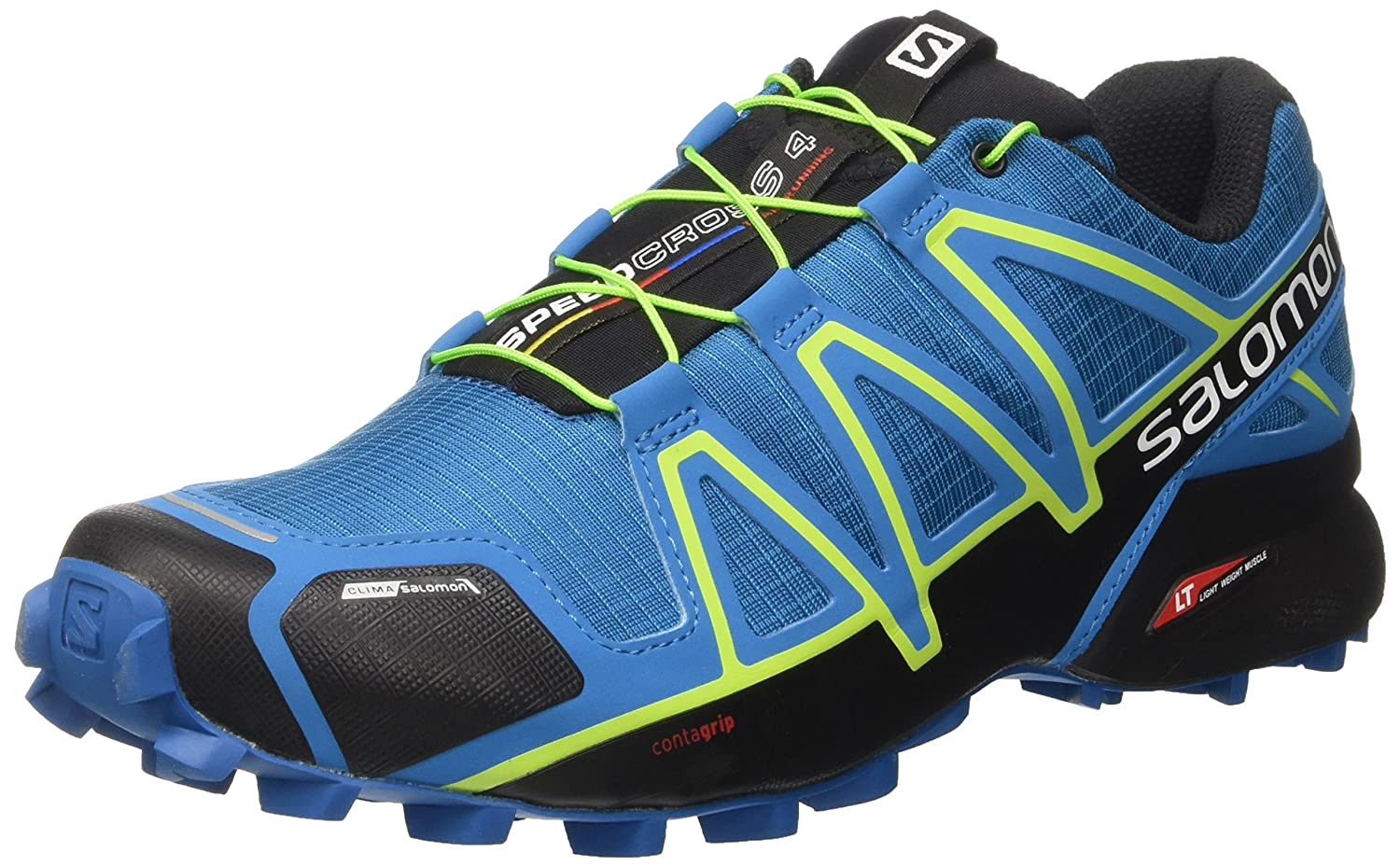 Salomon Speedcross 4 CS, Zapatillas de Trail Running para Hombre 46 2/3 EU|Mykonos Blue