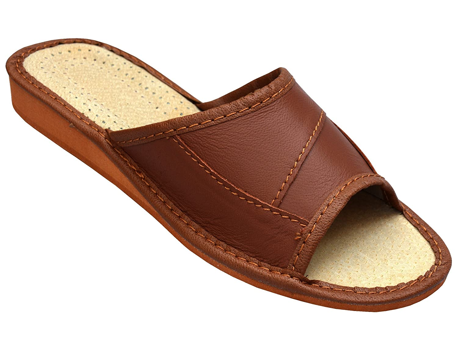 BeComfy Chaussons Confort Naturel Cuir Confort 19994 Chaussons Pantoufles Taille 35-41 Chaussons Marron c5f27b1 - fast-weightloss-diet.space
