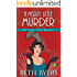 A Merry Little Murder: A Violet Carlyle Cozy Historical Mystery (The Violet Carlyle Mysteries Book 4)