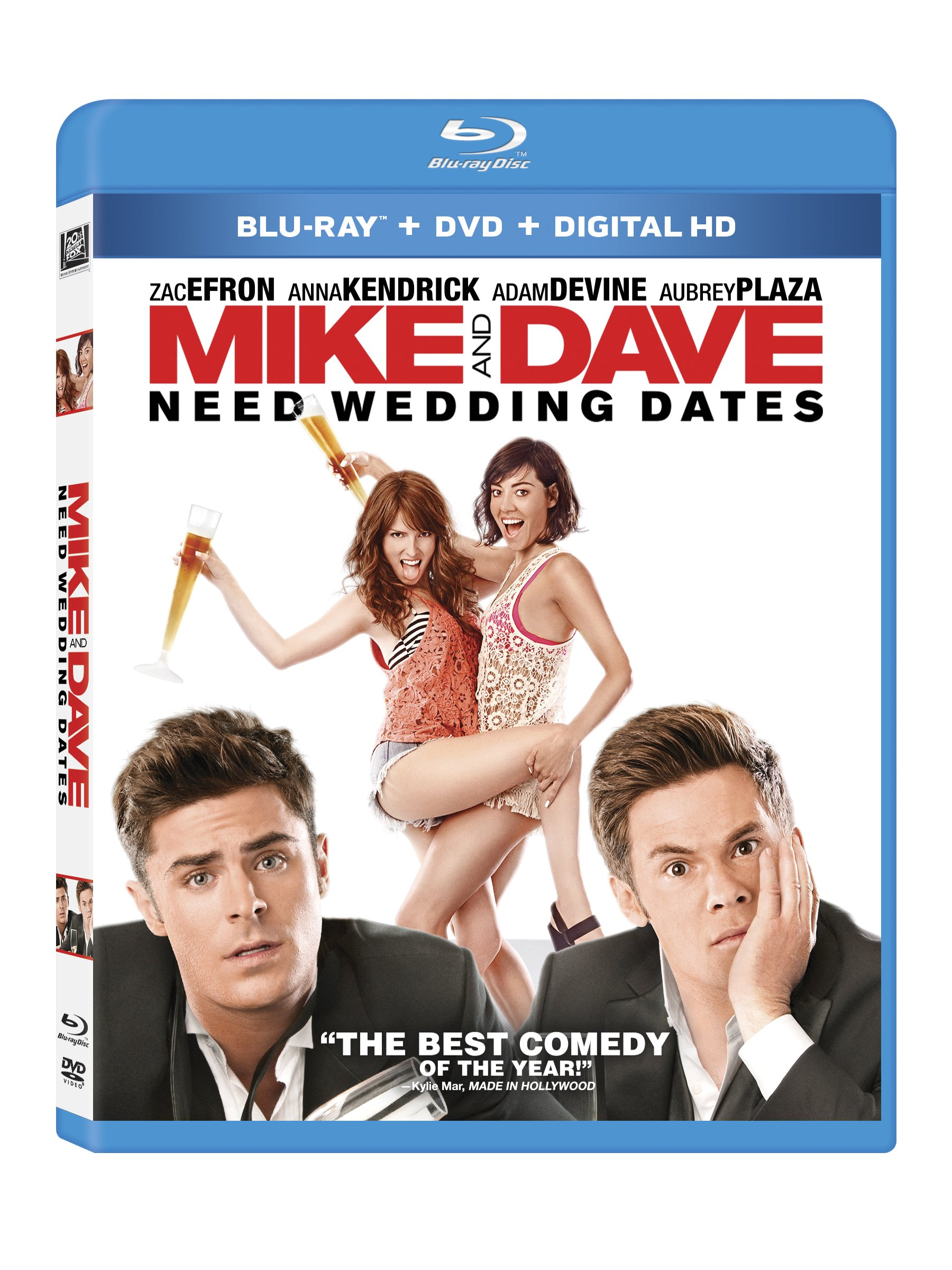 Blu-ray : Mike And Dave Need Wedding Dates (With DVD, Digitally Mastered in HD, 2 Pack, 2 Disc)