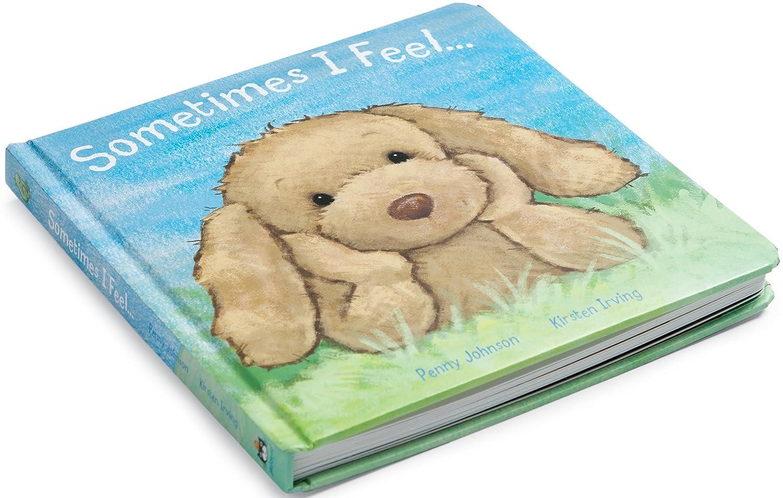 Jellycat Sometimes I Feel General 8.5 inches Kirsten Irving Children/'s Books