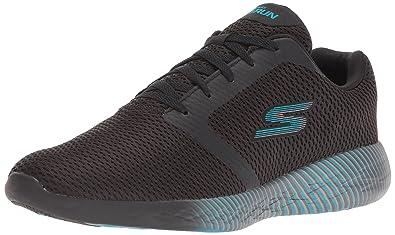 Skechers Performance Damens's Go Run 600 Spectra schwarz Sneaker, schwarz Spectra Blau ... bf378b