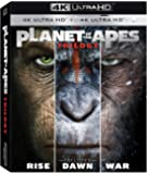 Planet Of The Apes Trilogy 4K Ultra HD +Bluray 6 Disk Exclusive Limited Edition Region Free