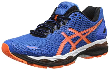 ASICS Gel-Nimbus Mens Running Shoes Blue T600N 3930, Size:44.5
