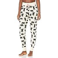 Hatley Little Blue House Women's Pajama Leggings