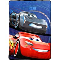 "Cars Competitive Edge Micro Raschel Throw Blanket, 46"" x 60"""