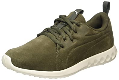 44db62ffd728 Puma Unisex s Olive Night-Whisper White Running Shoes-11 UK India (46