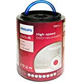 Philips DVD+R 16X 4.7GB 100PK Spindle with Handle