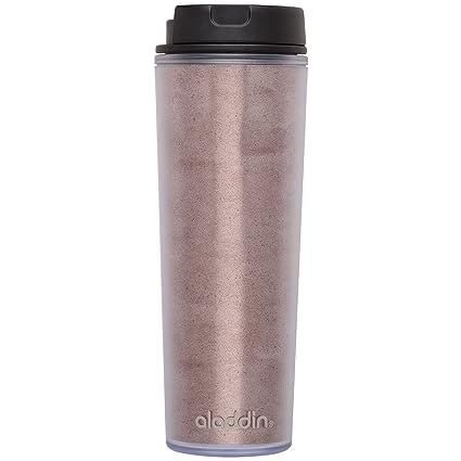 608484e4be7 Amazon.com   Aladdin 16 oz Cafe Insulated Plastic Mug, Petal: Coffee ...