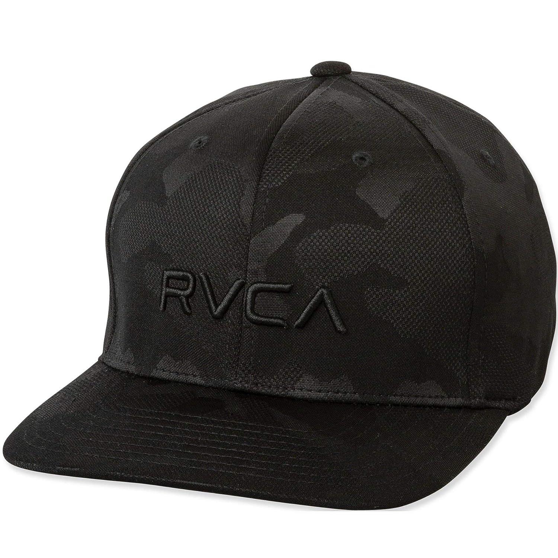 8d7a2360926 Amazon.com  RVCA Men s Flex Fit Hat  Clothing