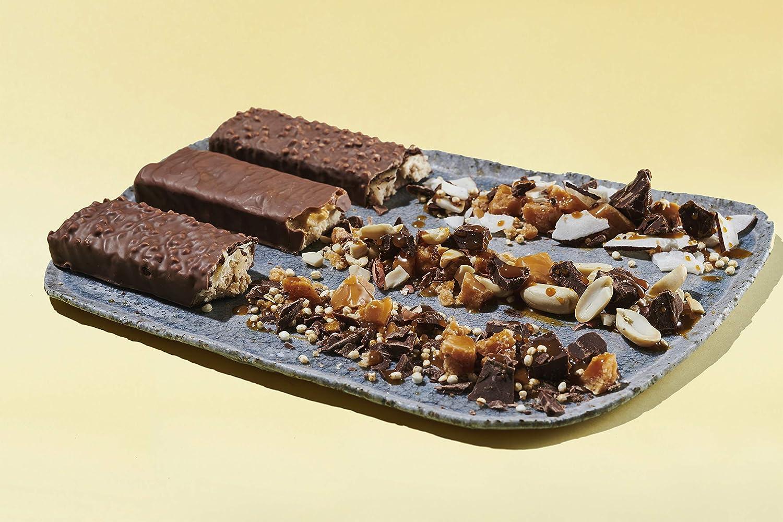 foodspring Protein Bar Extra Choco en Pack de 12 (Crunchy Peanut): Amazon.es: Salud y cuidado personal